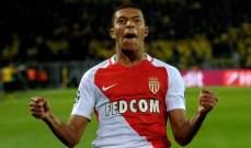 سكاي: موناكو ينفي إتفاقه مع ريال مدريد على بيع مبابي