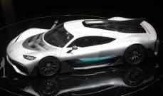 مرسيدس f1  النموذجية : سيارة لم يصنع منها اثنان