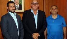 وصول رئيس اتحاد القارة الأوقيانية لكرة السلة الى بيروت