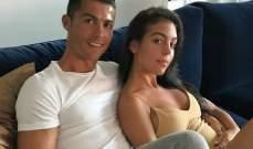 رونالدو يكشف عن علاقته بجورجينا عبر الانستغرام