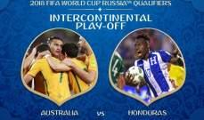 الإصابات تجبر مدرب هندوراس على تغيير تشكيلته قبل مواجهة أستراليا
