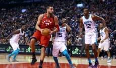 NBA : تورنتو يعزز صدارته وانديانا يتقدم الى المركز الرابع