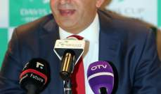 صرخة رياضية نابعة من القلب  لرئيس اتحاد التنس اوليفر فيصل