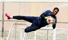اختيار محمد عبد المنصف كحارس لمنتخب مصر في كأس العالم