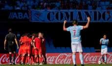 الليغا : ريال سوسييداد يقلب الطاولة ويخطف فوزاً مثيراً من سيلتا فيغو