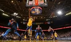 NBA: بوسطن وغولدن ستايت يعملان للعودة الى صدارة المجموعات