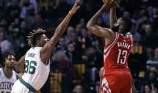 NBA: بوسطن يجدد انتصاره على متصدري الغرب والسبيرز يهدد وصافة هيوستن