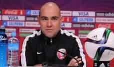 مدرب الاولمبي القطري:حققنا المطلوب امام تركمنستان باحراز نقاط المباراة