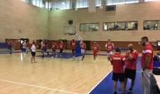 كأس غرب آسيا لكرة السلة للناشئين : لبنان يتخطى سوريا  بسهولة