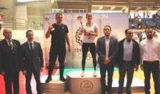 بطولة لبنان للحزام الاحمر بالتايكواندو:اللقب للأنترانيك والسيدة الوصيف