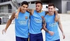 سواريز وميسي مصدومان من خطط نيمار بشأن ريال مدريد