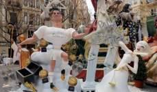 تمثال مثير للجدل لرونالدو في فالنسيا