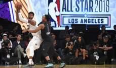 تراجع هذا العام في عدد مشاهدي مباراة كل النجوم NBA