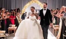 بالصور.. حفل زواج أسطوري للاعبة التنس سيرينا ويليامز