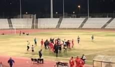 التضامن يقلب الطاولة على الصفاء ويتأهل لربع نهائي كأس لبنان