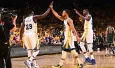 NBA: بداية جيدة للواريرز في نصف نهائي المجموعة الغربية