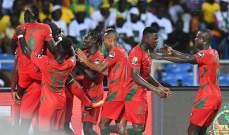 كأس امم افريقيا: غينيا بيساو تنغّص الفرحة على الغابون في آخر دقيقة