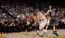NBA: غولدن ستايت يضيق الخناق على متصدر المجموعة الغربية
