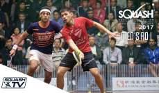 تأهل 6 مصريين الى ربع نهائي بطولة هونغ كونغ للإسكواش