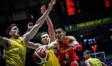 استراليا تكمل طريقها الى نصف النهائي بعد اقصائها المنتخب الصيني البطل