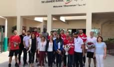 الحلبي: الجالية اللبنانية في قطر استقبلت بحفاوة بعثة منتخب كرة السلة