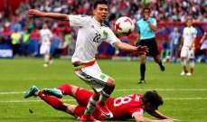 حالات تحكيمية من مباراة روسيا والمكسيك