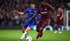 بيدرو : شعرت بشعور غريب حين لعبت امام برشلونة