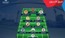 لاعب العهد احمد زريق ضمن الافضل في الجولة الأولى من البطولة العربية