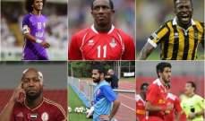 تعرف على النجوم العرب المشاركين مع الأهلي في لقاء أتلتيكو الودي