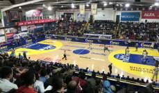 مجموعة اولى حديدية في الدور الثاني لكرة السلة اللبنانية