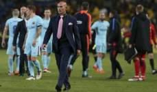 باكو خيميز سعيد بالتعادل امام برشلونة ويؤيد قرار الحكم لاهوز