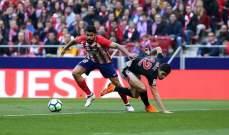 أتليتيكو مدريد يحقّق فوزا مهما على حساب بلباو