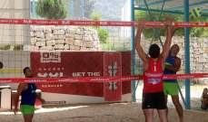 انطلاق بطولة لبنان للكرة الطائرة الشاطئية