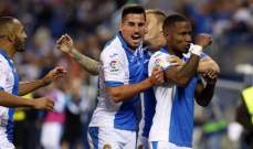 الليغا : ليغانيس يزاحم ريال مدريد بفوزه الثمين على اتلتيك بلباو