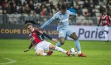 كأس الرابطة الفرنسية: موناكو يعبر الى نصف النهائي بالفوز امام نيس