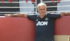 مورينيو : لن أكون مهووساً بالنتيجة أمام برشلونة