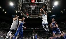 NBA:فيلادلفيا يفوز على مينسوتا بعد وقت اضافي وسكرامنتو يتغلب على فينيكس