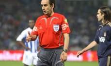ايتورالدي : يجب ايقاف حكم مباراة برشلونة ولاس بالماس 3 مباريات