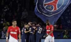 باريس سان جيرمان يحتفل بلقب الدوري الفرنسي بمهرجان تهديفي أمام موناكو