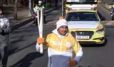 سيلفيو شيحا يحمل الشعلة الأولمبية ويمثّل لبنان عالمياً