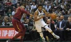 NBA: كليفلاند يعود امام ميلووكي ودالاس يسجل فوزه الثاني هذا الموسم