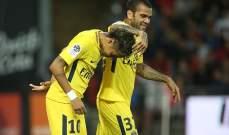 ألفيس: كنت أعلم مسبقاً أن نيمار يريد الرّحيل عن برشلونة