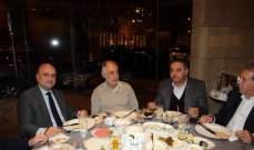 """عشاء لجنة الرياضة في """"التيار الوطني الحر"""" في حضور فنيش وابي رميا"""