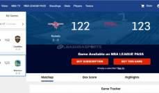 الموقع الرسمي للNBA  يهدي الواريرز الفوز على حساب هيوستن