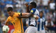 ملحق تصفيات كأس العالم: تعادل سلبي في الذهاب بين أستراليا و هندوراس