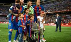 برشلونة بطل الكأس ارسنال ينقذ موسمه ورايكونين ينطلق اولا في موناكو