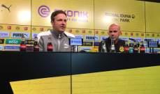 مدرب دورتموند: مواجهة ريال مدريد من المباريات المحببة لي