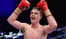 هورن يحتفظ بلقب رابطة الملاكمة العالمية في الوزن الخفيف