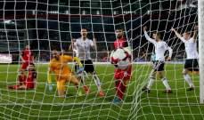 هدف صحيح لالمانيا في مباراتها امام اذربيجان