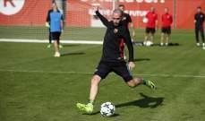 فيدال لا يفكر بالرحيل عن برشلونة في الوقت الراهن